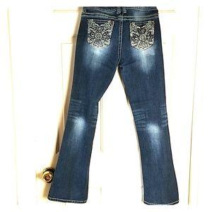 🎃 Wall flower jeans sz.7 embellished pockets